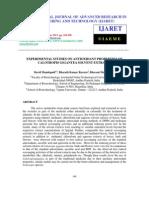 Experimental Studies on Antioxidant Properties of Calotropis Gigantea