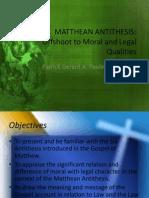 Matthean Antithesis