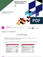 Les aspirations professionnelles des jeunes médecins en Ile de France