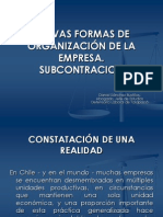 Apuntes Subcontracion de Trabajadores. Unap 2012