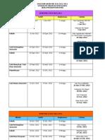Kalendar Akademik 2012-2013