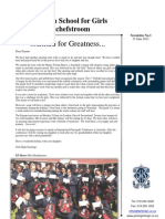 Potch Girls High Newsletter 3 - 21 June 2013