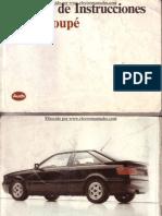 Audi Coupe Manual Uso