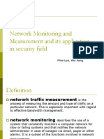 Network monitoring and measurement.ppt
