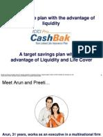 ICICI Pru CashBak New