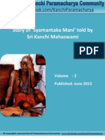Kanchi Paramacharya Community - Story of Syamantaka Mani Told by Sri Kanchi Mahaswami - E-Book #2