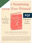 Publicité - 1933 - For The mystical life of Jesus