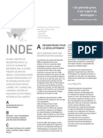 Architecture & Development Annual Report - Development in the Grey Period is Crucial (French Version)