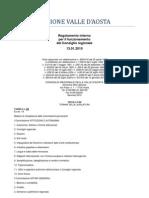 61. Regolamento Interno Consiglio Valle d'Aosta 13.01.2010 - Titolo 8 Bis