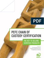 PEFC CoCPEFC Chain of Custody Certification - The Key to Selling Certified Products Certification Key to Selling