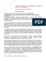 TRASFERITO ANZA Salvatore Dirigente Assessorato Ambiente Rotazione Per Tutti Gli Assesorati ApPalti Limpidi