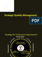 Strategic Quality Management