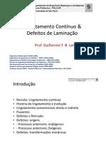 Lingotamento Contínuo e Defeitos de Laminação v2013
