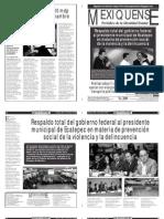 Versión impresa del periódico El mexiquense  21 junio 2013