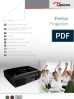 Data Projector SPECIAL OpX300 UK v1