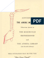 Propagande - 1925 - Activities of the AMORC