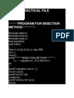 Cbnst Practical File Ambar