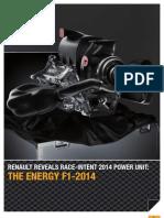 Renault révèle son Power Unit 2014