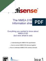 The NMEA 0183 Information Sheet