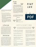 Propagande - Fiat Lux