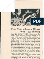 Propagande - Thoughts Have Wings