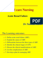 acute renal failure lecture 1 Critical care nursing.ppt