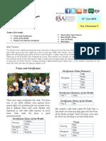 Rosemary Works Newsletter 21/06/13