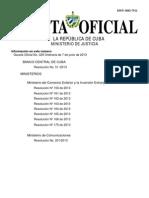 Gaceta Oficial No. 029 Ordinaria de 7 de junio de 2013