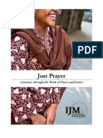 IJM Just Prayer Devotional