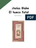 Blake, Nicholas - Nigel Strangeways 11 - El Hueco Fatal
