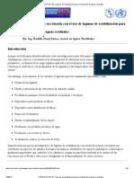 CEPIS_OPS-HDT 33 _ Lagunas de estabilización para el tratamiento de aguas residuales