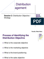 Session 2 - S & D - Distribution Objective