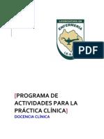 Docencia Clinica Ene Jun 2012