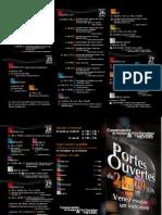 Programme PRTouvertes2013
