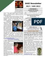 7 July Aug Sasi News 2013