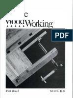 4 Fine WoodWorking Fall 1976