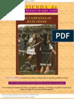 Las campañas de Julio César por José Ignacio Lago, editado p