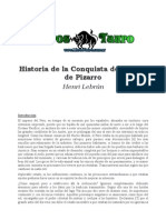 Lebrún, Henri - Historia De La Conquista Del Perú Y De Pizar