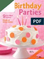 Betty  Crocker Birthday Parties