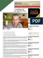 20-06-2013 Acción Nacional, sin posibilidad de derrotar a Pepe Elías