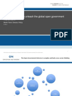 Can open data help unleash open government? With Martin Tisne