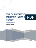 role of investment banking in india