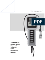 Manual de Operación YSI 55