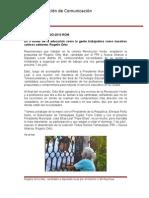 20-06-2013 Boletín 031 'Es a través de la educación como la gente trabajadora como nosotros salimos adelante' Rogelio Ortiz