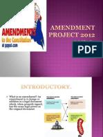 Amendment Project.pptx