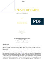 On the Peace of Faith