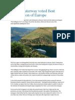 douro eleito como melhor destino fluvial da europa ingl
