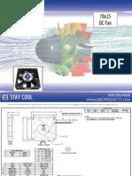 JMC 70x15 DC Fan