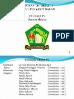Tutorial 12 Trigger 4.Demam Malaria