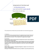 The Components of the Aloe Leaf.pdf